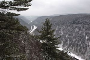 Pa Grand Canyon in Winter