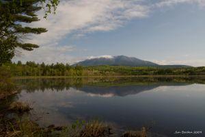 Mt Katahdin Reflection