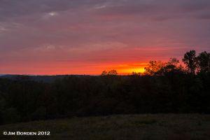 Post Sunset Color-near Springville PA