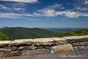 Blue Ridge Parkway Overlook