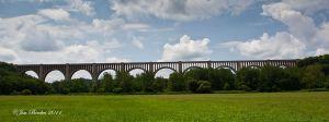 Tunkhannock Viaduct Panorama