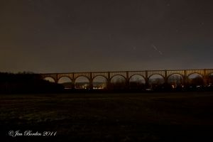 Tunkhannock Viaduct Night Time