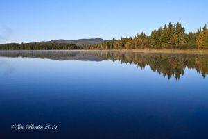 North Maine Lake reflection