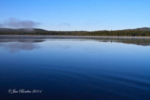North Maine Lake Tranquility