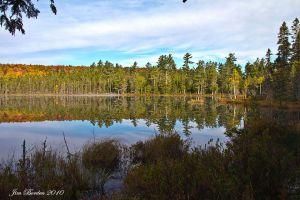 Remote Maine lake