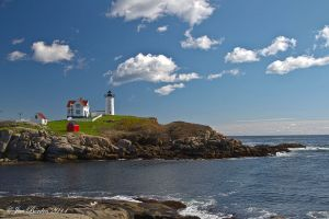 Nubble Light Panorama