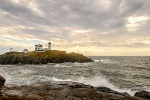Early Morning Pending Storm at Nubble