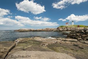 Nubble Light from Foxes