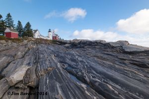 Pemaquid from the rocks