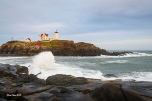 Stormy Nubble Light